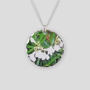 NAPLES FLOWERS Necklace Circle Charm