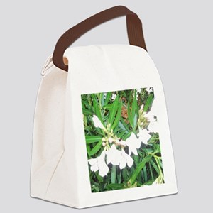 NAPLES FLOWERS Canvas Lunch Bag