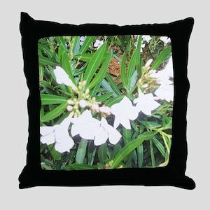 NAPLES FLOWERS Throw Pillow