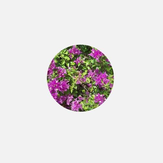 NAPLES FLOWERS Mini Button