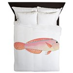 Pearly Razorfish Queen Duvet