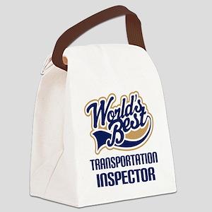 Transportation Inspector Canvas Lunch Bag
