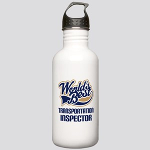 Transportation Inspector Stainless Water Bottle 1.