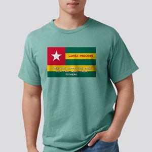 They Are Happy - Lamba Proverb Mens Comfort Colors