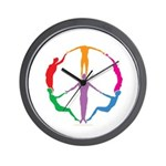 009Peace People Wall Clock