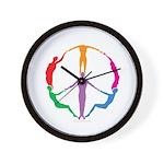 009Peace People Wall Clock