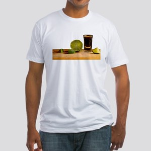 Tequila and Lime Fitted T-Shirt