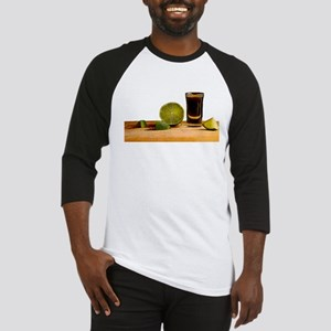 Tequila and Lime Baseball Jersey