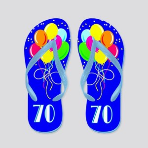 TERRIFIC 70TH Flip Flops