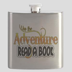 Reading Adventure Flask