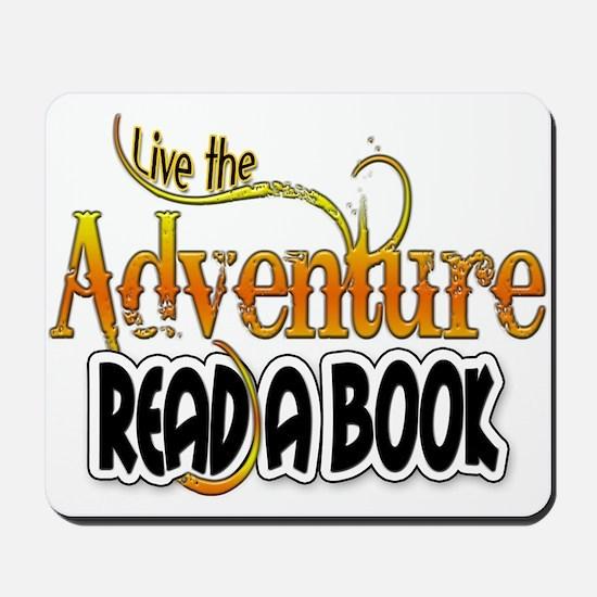 Reading Adventure Mousepad