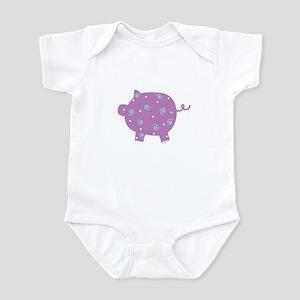 Swirly Pig Infant Bodysuit