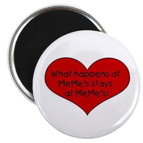 What happens at MeMe's Magnet