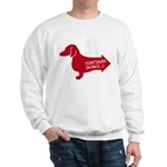Dachshund (red) continued Sweatshirt