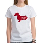 Dachshund (red) continued Women's T-Shirt