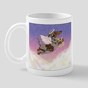 Chocolate Dapple Angel Mug