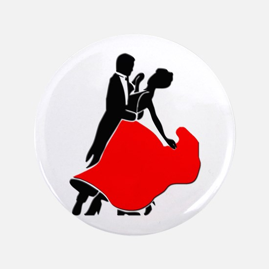 """Shall We Dance 3.5"""" Button"""