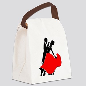Shall We Dance Canvas Lunch Bag