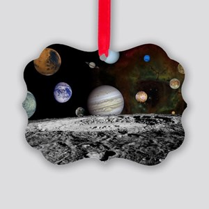 Solar System Montage Ornament