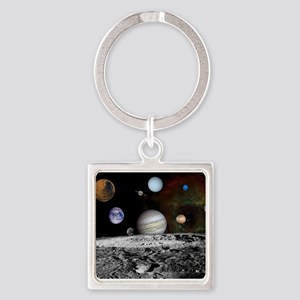 Solar System Montage Keychains