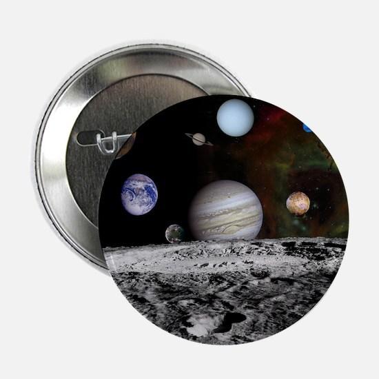 "Solar System Montage 2.25"" Button"