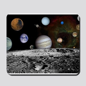 Solar System Montage Mousepad