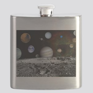 Solar System Montage Flask