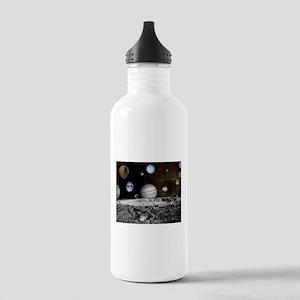 Solar System Montage Water Bottle