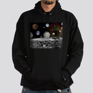Solar System Montage Hoodie