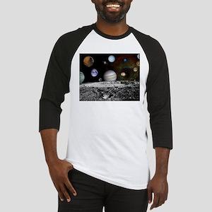 Solar System Montage Baseball Jersey