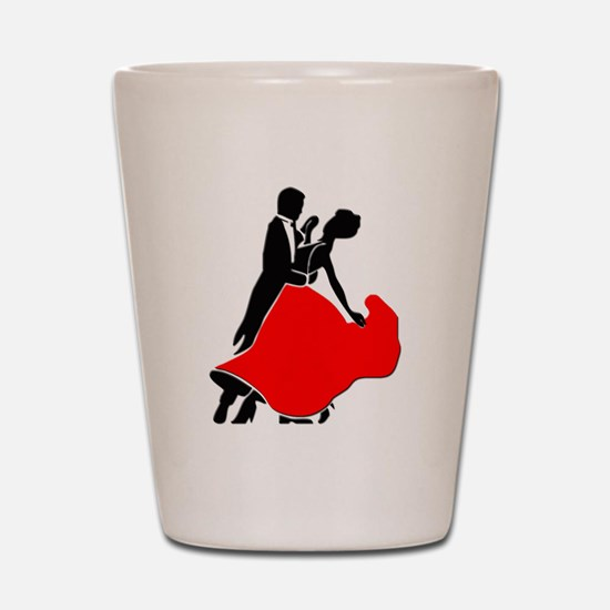 Shall We Dance Shot Glass