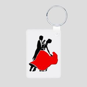 Shall We Dance Aluminum Photo Keychain