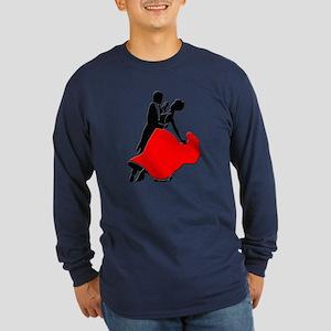 Shall We Dance Long Sleeve Dark T-Shirt
