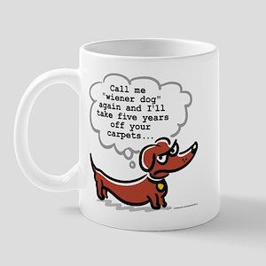 Wiener dog (floors) Mug