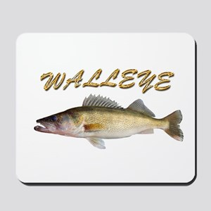 Golden Walleye Mousepad
