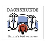 Dachshund bed warmers Small Poster