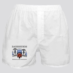 Dachshund bed warmers Boxer Shorts