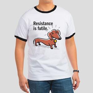 """Dachshund """"Resistance"""" Ringer T"""