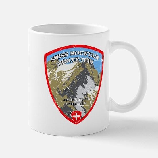 SWISS MOUNTAIN RESCUE-3-DISTRESSED Mugs