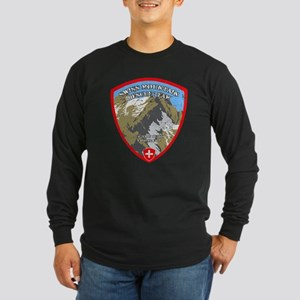 SWISS MOUNTAIN RESCUE-3-DISTRESSED Long Sleeve T-S