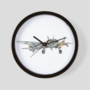 Junkers Bomber Wall Clock