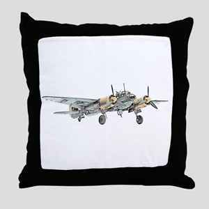 Junkers Bomber Throw Pillow