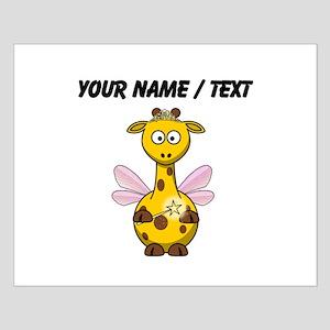 Custom Fairy Giraffe Poster Design