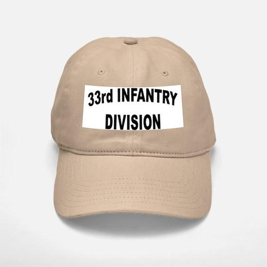 33RD INFANTRY DIVISION Baseball Baseball Cap