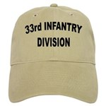 33RD INFANTRY DIVISION Cap