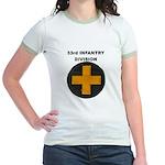 33RD INFANTRY DIVISION Jr. Ringer T-Shirt
