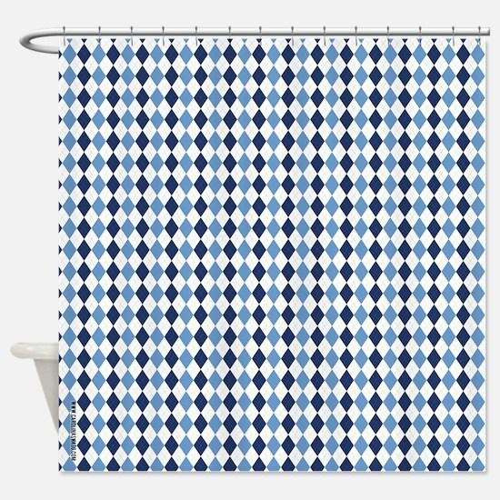 Carolina Blue Argyle, Diamond Shaped Pattern, Nort