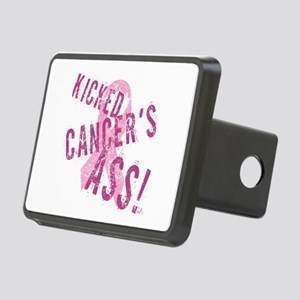 Kicked Cancer's Ass Rectangular Hitch Cover