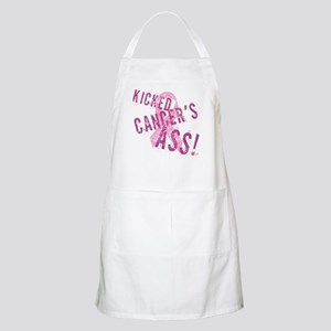 Kicked Cancer's Ass Apron
