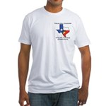 """Texas Hill Country"" Fitted T-shirt"